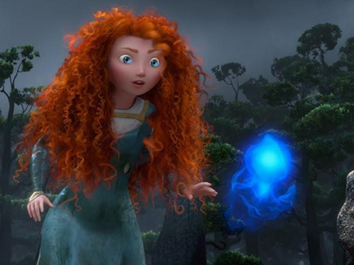 Brave, Indomable, la princesa Mérida, el espíritu indómito de una mujer