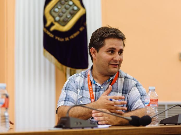 David Muriel - I Encuentro Hispano-Marroquí Medina del Campo