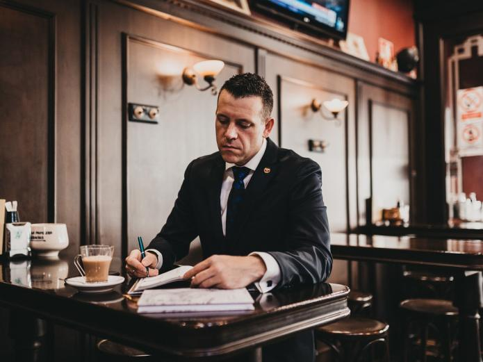 """Javier Rivas Cao, fundador de """"Libros que tengo que leer"""""""