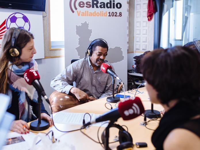 Wafir S. Gibril, María José Celemín, Tamara, de EsRadio