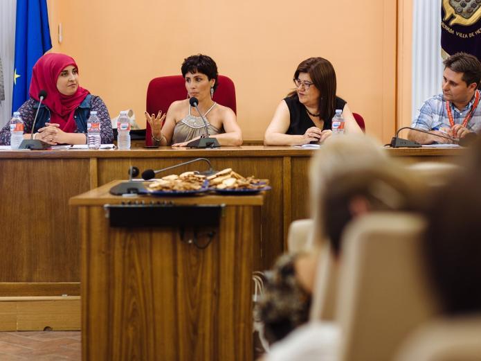 María José Celemín - I Encuentro Hispano-Marroquí Medina del Campo - Teresa Rebollo, David Muriel, Oumaima Mhijir