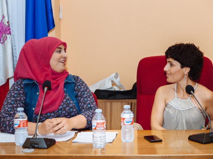 María José Celemín - I Encuentro Hispano-Marroquí Medina del Campo - Oumaima Mhijir