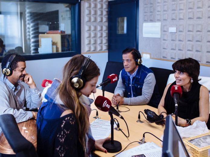 Wafir S. Gibril, Mahmoud Fares, María José Celemín, Tamara de EsRadio