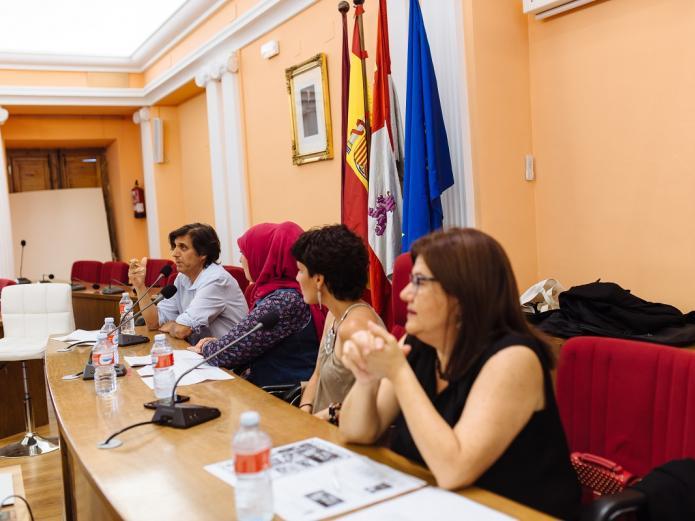 María José Celemín - I Encuentro Hispano-Marroquí Medina del Campo - Teresa Rebollo, David Muriel, Oumaima Mhijir, Pedro Burruezo