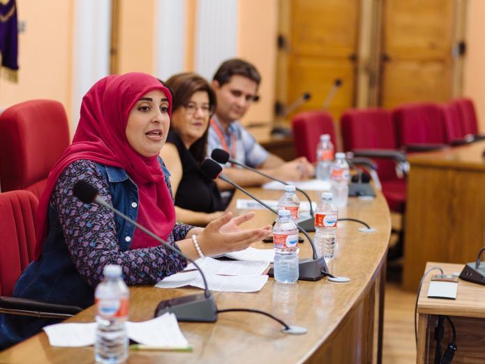 I Encuentro Hispano-Marroquí Medina del Campo - Teresa Rebollo, David Muriel, Oumaima Mhijir