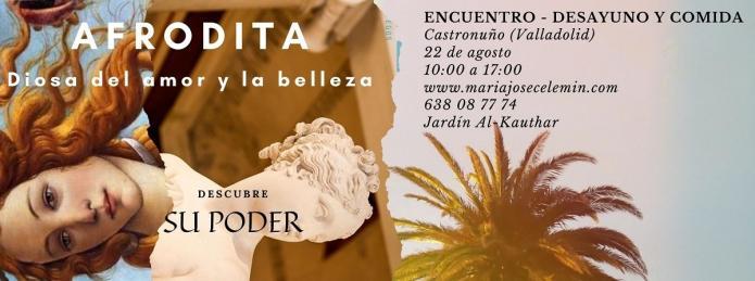 Afrodita, diosa del amor y la belleza - encuentros Castronuño