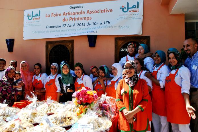 Amal, centro de formación y restaurante de Marrakech, fundado por Nora Fitzgerald