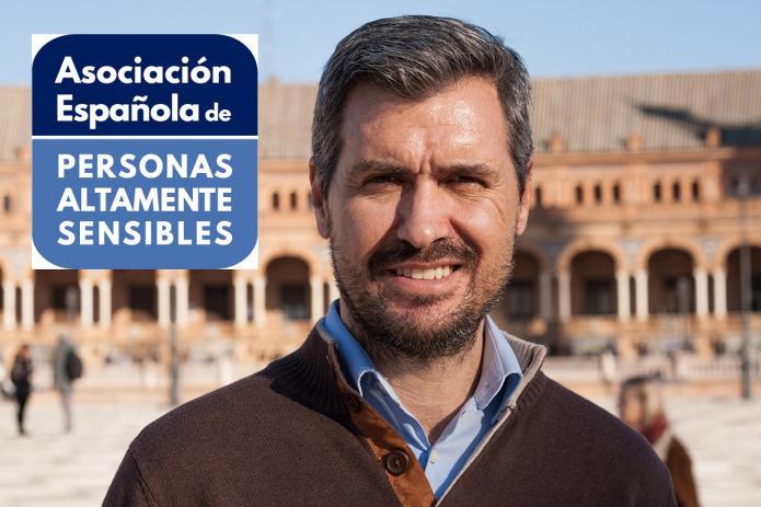 Coaching para Personas Altamente Sensibles (PAS), Pablo Villagrán, presidente de la Asociación para Personas Altamente Sensibles de España
