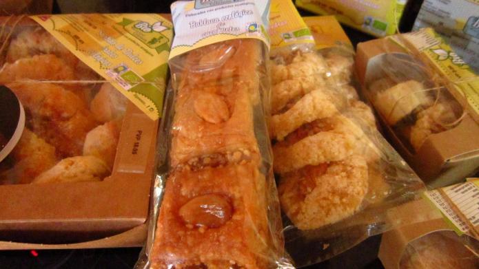 Dulces árabes ecológicos - Mercado ecológico Plaza España Valladolid
