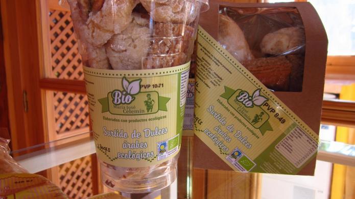 Feria Productos Ecológicos Medina del Campo - Dulces árabes ecológicos
