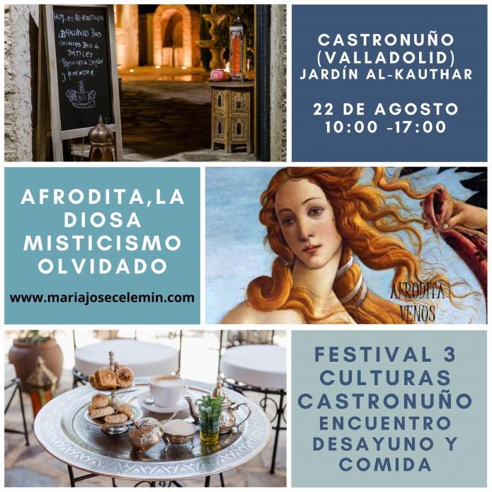 Festival 3 Culturas Castronuño - Afrodita, la diosa del amor